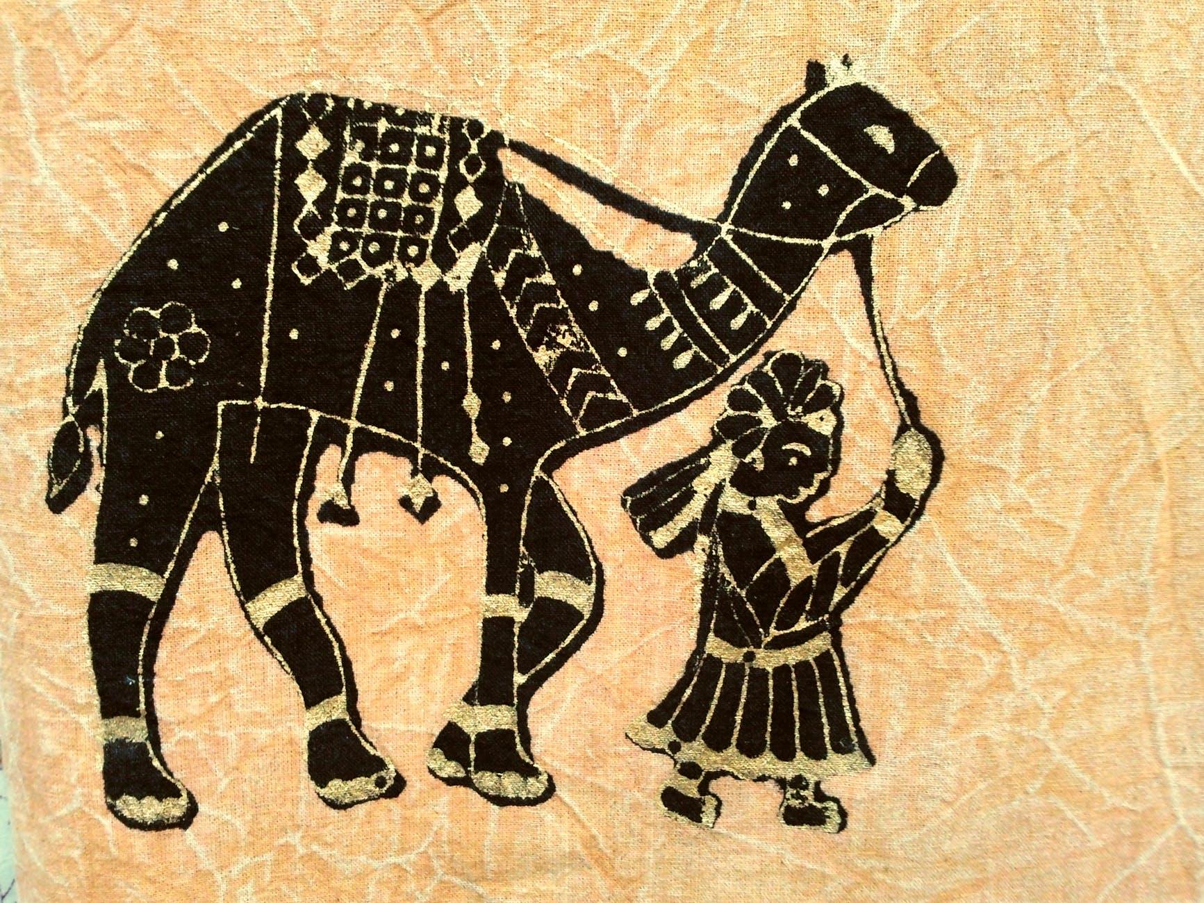 antique apparel art artwork