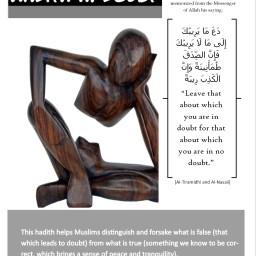 Hadith 11: Doubt