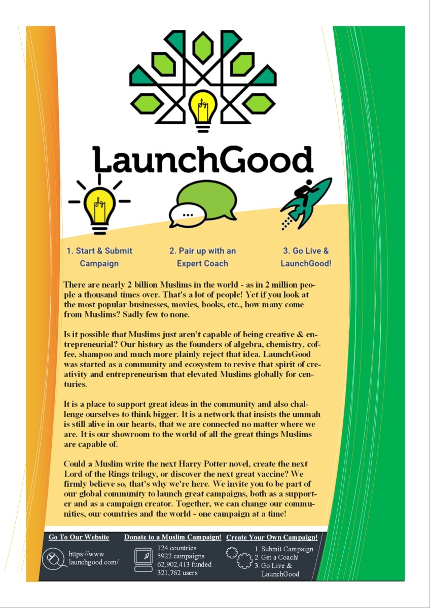Go Live and LaunchGood!